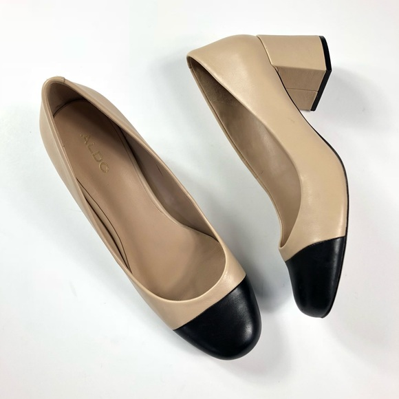 3ebf3be6d Aldo Shoes | Bellone Twotone Cap Toe Pump 7 | Poshmark